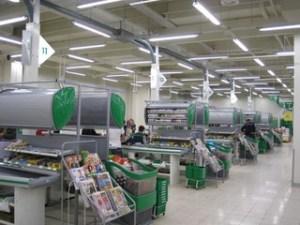 Supermarket in Riga